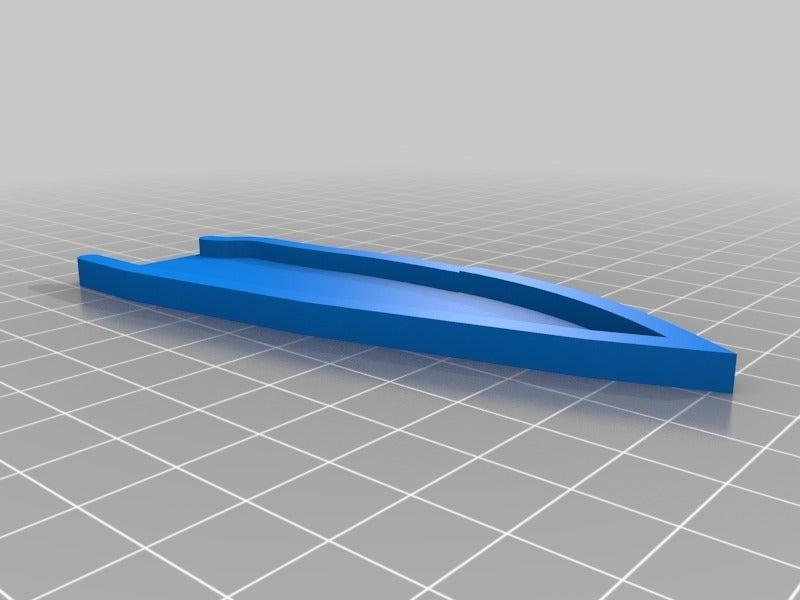 cd964f4b50ca3686edd7e63038ae6371.png Télécharger fichier STL gratuit Gaine de base pour un couteau sur mesure (couteau inclus) • Design à imprimer en 3D, Milan_Gajic