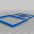 Download free STL file 63 x 85mm Picture Frame • 3D printable model, Milan_Gajic
