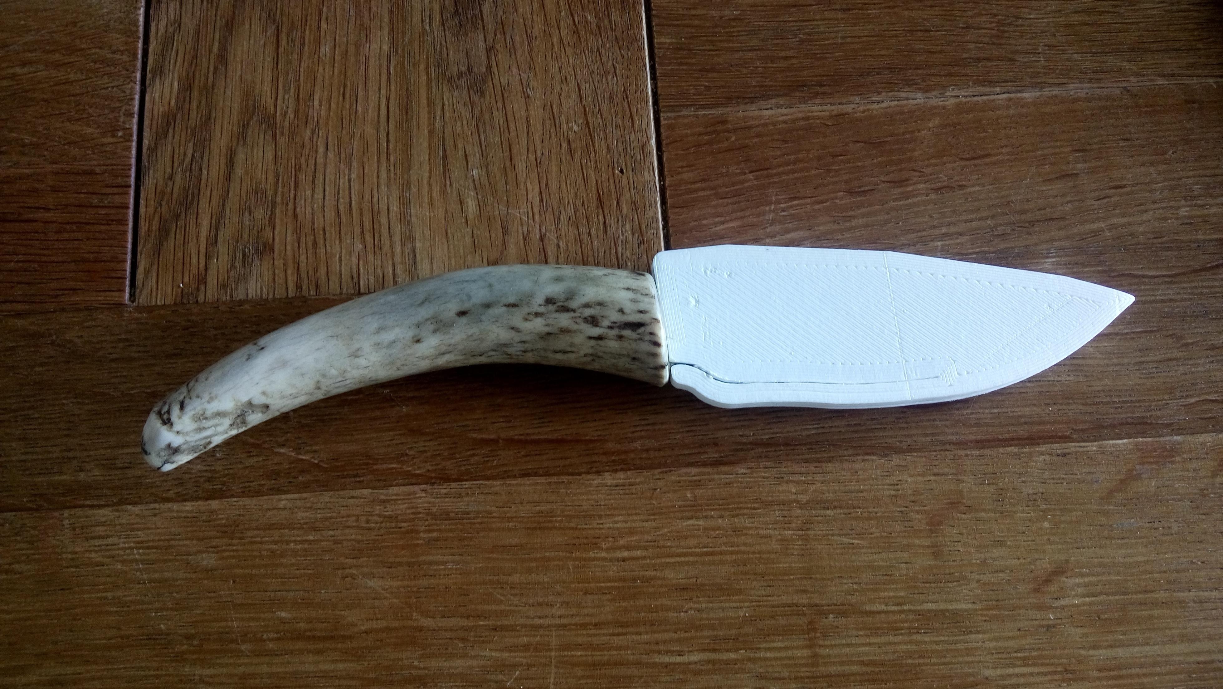 170821-DSC_2400.JPG Télécharger fichier STL gratuit Gaine de base pour un couteau sur mesure (couteau inclus) • Design à imprimer en 3D, Milan_Gajic