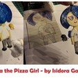 Download free STL file Lola The Pizza Girl by Isidora Gajic- drawing to hanger • Template to 3D print, Milan_Gajic
