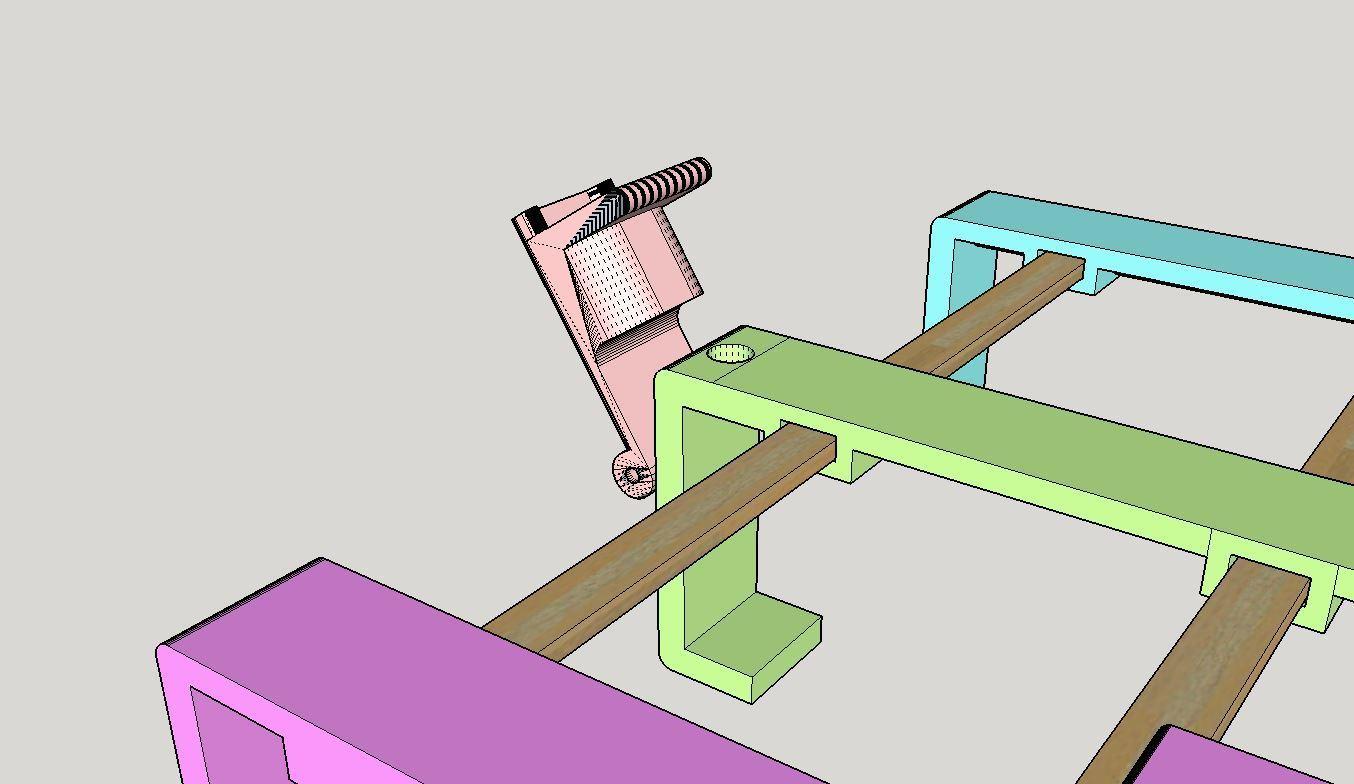 2019-09-21_11_22_45-PhoneHolderIkeaBed30mm.skp_-_SketchUp_Make_2016.jpg Télécharger fichier STL gratuit Support de téléphone pour lit IKEA STUVA / FRITIDS • Plan pour impression 3D, Milan_Gajic