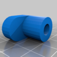 Download free 3D printing files Lock reminder cable hook V-strom 1000, Milan_Gajic