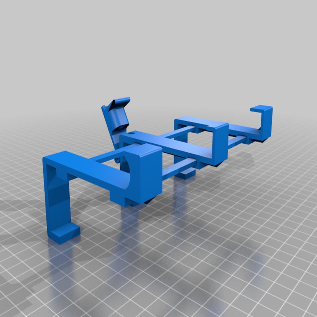 MountCompleteOpennon-printable.png Télécharger fichier STL gratuit Support de téléphone pour lit IKEA STUVA / FRITIDS • Plan pour impression 3D, Milan_Gajic