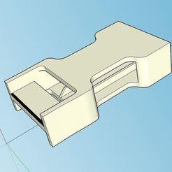 Télécharger plan imprimante 3D gatuit Clip féminin à boucle à déclenchement rapide facile à imprimer, Milan_Gajic
