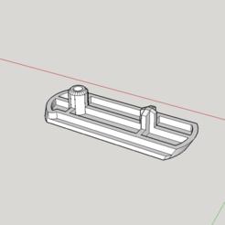 Download free STL file Stokke Tripp Trapp Foot • 3D print object, Milan_Gajic