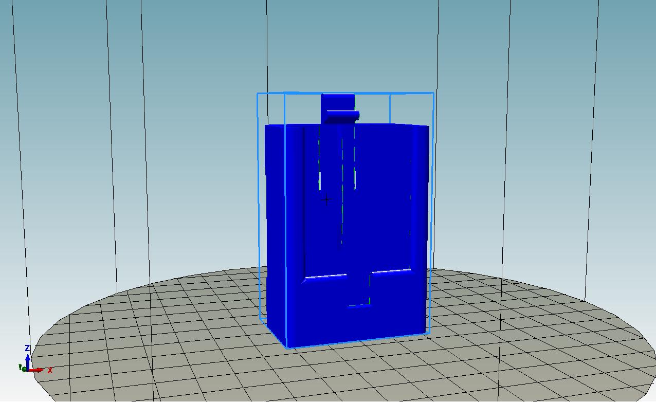 2018-02-19_22_25_26-Repetier-Host_V1.6.0_-_HormannRemoteCradlev3-strap.stl.png Télécharger fichier STL gratuit Berceau à sangle Hormann • Design à imprimer en 3D, Milan_Gajic