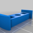 Download free STL file Bicycle backlight holder for 8mm roundbar rack-extension • Object to 3D print, Milan_Gajic