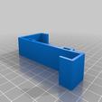 MountLeft.png Télécharger fichier STL gratuit Support de téléphone pour lit IKEA STUVA / FRITIDS • Plan pour impression 3D, Milan_Gajic