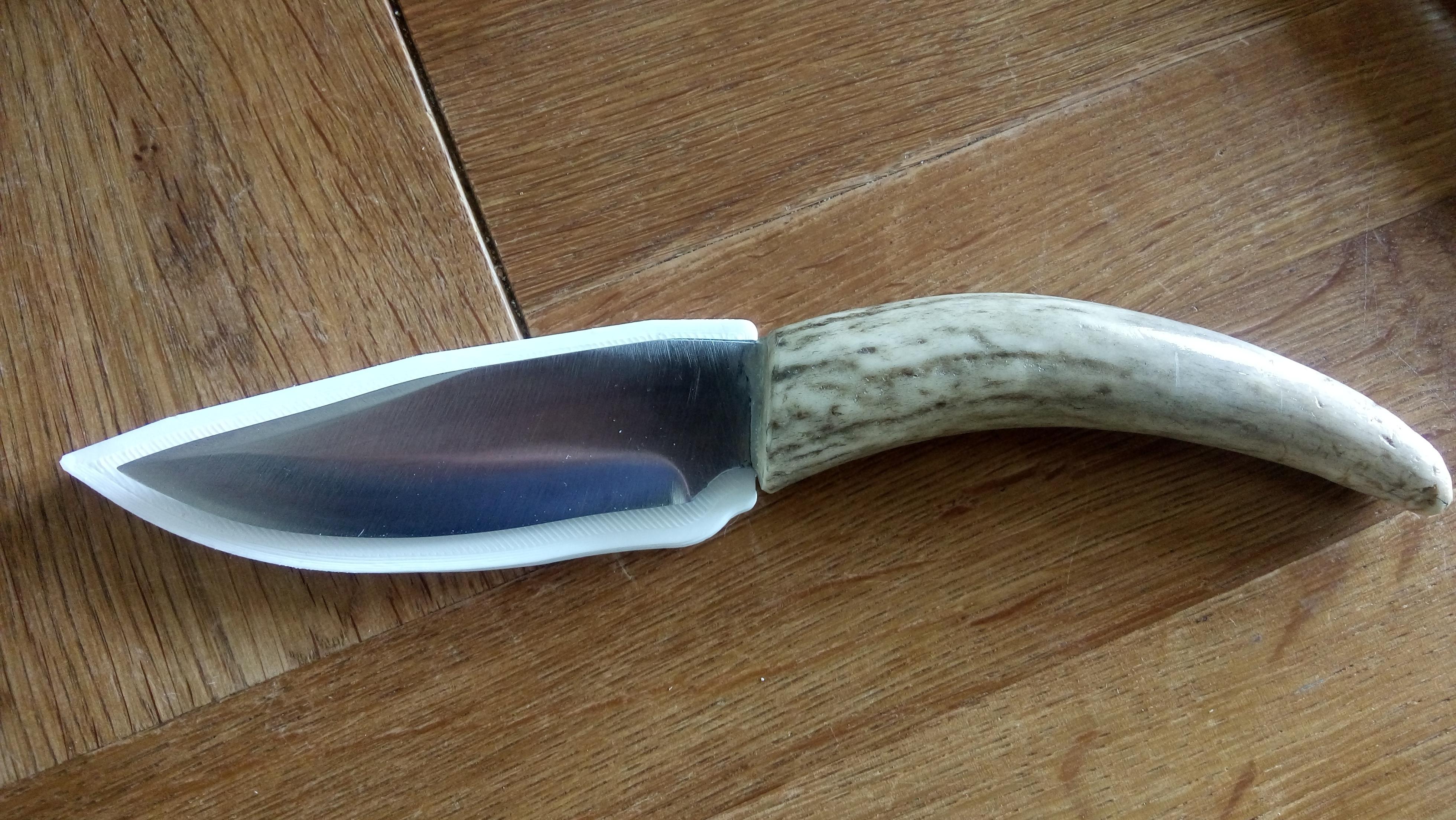 170821-DSC_2402.JPG Télécharger fichier STL gratuit Gaine de base pour un couteau sur mesure (couteau inclus) • Design à imprimer en 3D, Milan_Gajic