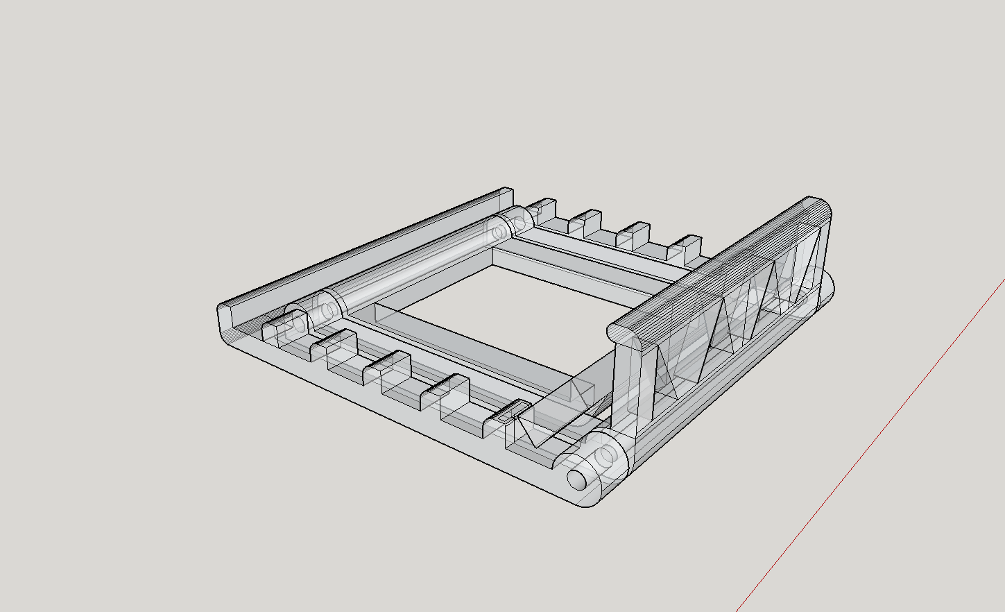 2018-04-30_17_17_30-Phone_stand_-_SketchUp_Make_2016.png Download free STL file Foldable phone stand • 3D printable template, Milan_Gajic