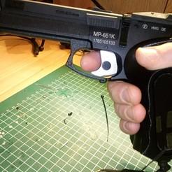 Télécharger fichier STL gratuit Bouchon magnétique Baikal MP-651K pour poignée ergonomique • Plan pour imprimante 3D, Milan_Gajic