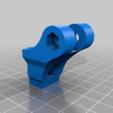 Download free STL file Daryo bicycle light adapter • 3D printer template, Milan_Gajic