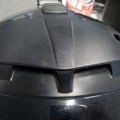 Download free 3D printer designs Nolan N44 Motorcycle Helmet Air Vent sliders, Milan_Gajic