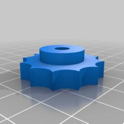 Télécharger fichier STL gratuit vis à oreilles pour écrou m5 pour porte-filament • Objet imprimable en 3D, Milan_Gajic