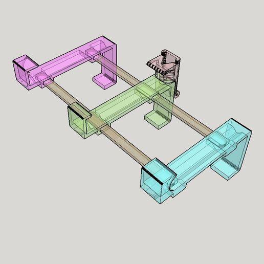 2019-09-21_11_14_37-PhoneHolderIkeaBed30mm.skp_-_SketchUp_Make_2016.jpg Télécharger fichier STL gratuit Support de téléphone pour lit IKEA STUVA / FRITIDS • Plan pour impression 3D, Milan_Gajic