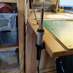 IMG_20201002_121222.jpg Télécharger fichier STL gratuit Crochet d'établi pour fer à souder (14 mm) • Modèle à imprimer en 3D, Milan_Gajic