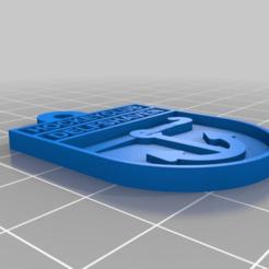 Télécharger fichier STL gratuit Logo du Hockeyclub Delfshaven (Rotterdam) • Design imprimable en 3D, Milan_Gajic