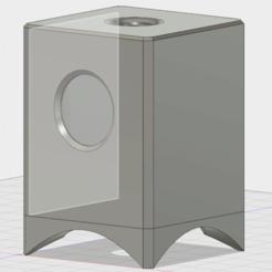 Descargar modelo 3D gratis Carcasa de altavoz de 4 pulgadas, bravefruitcake