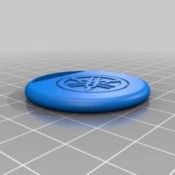 Descargar modelo 3D gratis pequeño y simple llavero yamaha, bravefruitcake