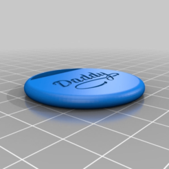 d39fe9588612b66650e9b8077133fd73.png Download free STL file small simple daddy keyring • 3D printing model, bravefruitcake