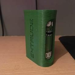 IMG_1087.JPG Download free STL file dual 18650 battery case holder for vapes • 3D printing object, bravefruitcake