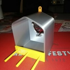 Mangeoir.5.jpg Télécharger fichier STL Mangeoires pour oiseaux • Objet imprimable en 3D, olivierchauffe1972