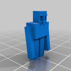 Iron_Golem.png Download free STL file Minecraft Iron Golem • 3D printable template, rianocerous