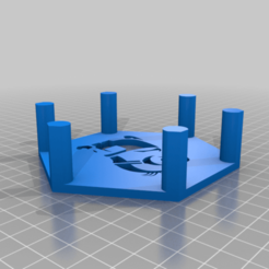 Download free 3D printing designs Minion Coasters and Holder, rianocerous
