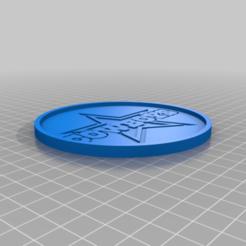 CoasterDallasCowboys.png Télécharger fichier STL gratuit Dallas Cowboys Coaster • Plan pour impression 3D, rianocerous