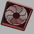 Download STL file Classic Styled 92 x 14mm Fan Cover, sudoreboot