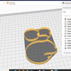 Plan de travail 1.png Download STL file Homer Simpsons Wall • 3D printer template, Gastor