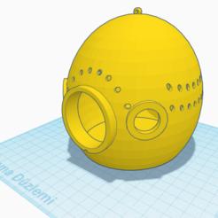 Télécharger objet 3D gratuit ŞEKLİNDE YUVASI - NID D'OISEAU YUMURTA ŞEKLİNDE, sosyalcinet