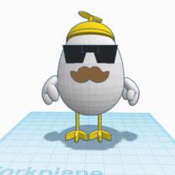 Impresiones 3D gratis El chico de las gallinas, jhutton1107