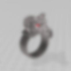 Anillo dragon STL.stl Download free STL file Dragon Ring Jewel Anillo de Dragón Joya • 3D print object, luchoalbizu