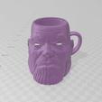 Download STL Thanos cup glass matt glass, luchoalbizu