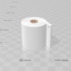 Download free 3MF file Key chain toilet paper • 3D printer model, luchoalbizu