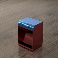 Boite à coton-tiges close.jpg Download free GCODE file Cotton Stem Box • 3D printer model, Cethian
