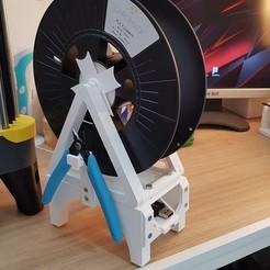 Descargar archivo 3D gratis Soporte de la bobina, Arno86