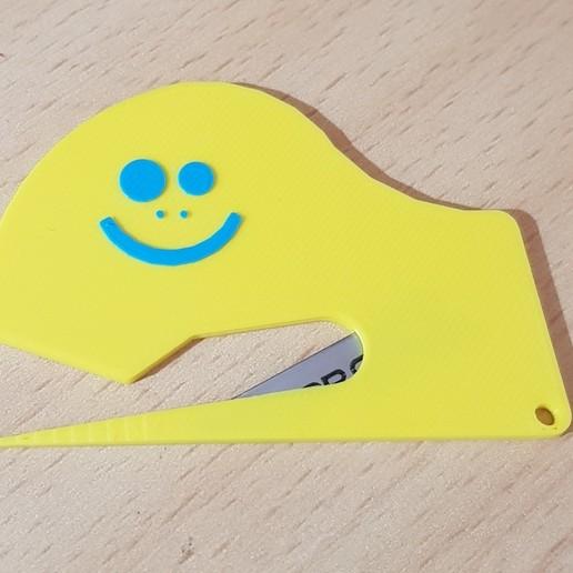 Download free 3D printer designs Paper cutter, Arno86