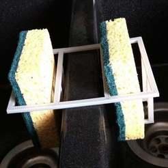 Download free STL Kitchen Sponges Holder, abojpc