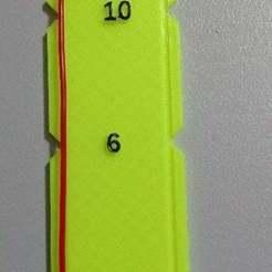 Download free 3D printer designs Extruder ruler V2, abojpc