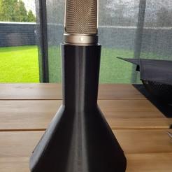 Télécharger fichier STL gratuit Support de table pour microphone Rode • Modèle imprimable en 3D, LorenzoTano