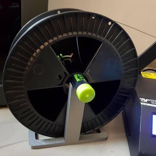 Télécharger fichier STL gratuit 2,2 kg Porte-bobine • Plan pour impression 3D, LorenzoTano