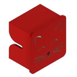 Impresiones 3D gratis Ender 3 Personalizado - Gato de cubierta del eje X, ChickenPilot71