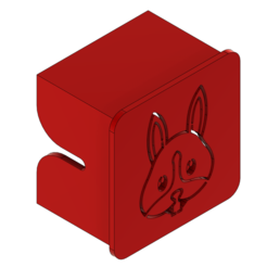Download free 3D printing files ENDER 3 CUSTOM - X-AXIS COVER BUNNY, ChickenPilot71