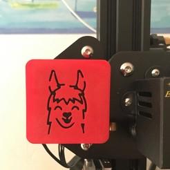 84237243_1046084485772949_1214807963252817920_n.jpg Télécharger fichier STL Ender 3 Custom  -  X-Axis Cover Lama • Objet pour imprimante 3D, ChickenPilot71