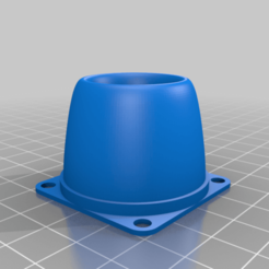Download free 3D printing models My Customized Fan Silencer_V1 to any size Parametric /, josuemmoreno