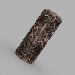 Télécharger plan imprimante 3D gatuit Rouleau à texture chaotique, CrusherJoe