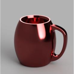 tasse_café.png Download STL file Mug • 3D printing object, castor0697