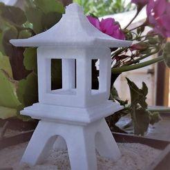 Descargar archivo STL Linterna de jardín Zen japonesa (H130mm L70mm) • Diseño para imprimir en 3D, castor0697